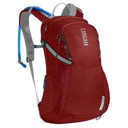 CamelBak Day Star 16 Hydration Pack 2017, Red Dhalia-Stone Blue, 256