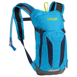 CamelBak Mini M.U.L.E Hydration Pack 2017, Atomic Blue-Navy Blazer, 256