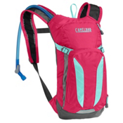 CamelBak Mini M.U.L.E Hydration Pack 2017, Azalea-Aruba Blue, medium