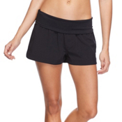 Body Glove Seaside Vapor Womens Board Shorts, Black, medium