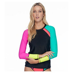 Body Glove Borderline Surfs Up Womens Rash Guard, , 256