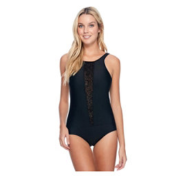 Body Glove View Point One Piece Swimsuit, Black, 256