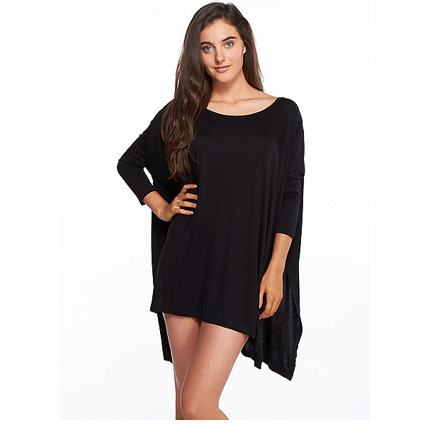 Body Glove Brynn Dress Bathing Suit Cover Up, Black, 600