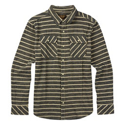 Burton Brighton Long Sleeve Mens Flannel, Eclipse Dock Stripe, 256