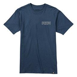 Burton Vista Short Sleeve Mens T-Shirt, Indigo, 256