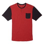 Burton Dwight Henley Mens T-Shirt, Tandori, medium