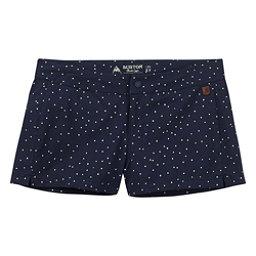 Burton Shearwater Womens Hybrid Shorts, Mood Indigo Dots, 256