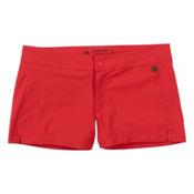 Burton Shearwater Womens Hybrid Boardshorts, Coral, medium