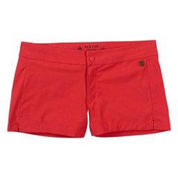 Burton Shearwater Womens Hybrid Shorts, Coral, 256