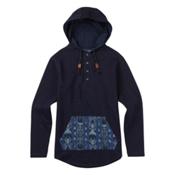 Burton Baja Pullover Mens Hoodie, Indigo, medium