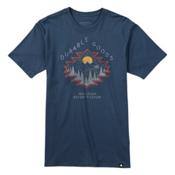 Burton El Dorado Short Sleeve Mens T-Shirt, Indigo, medium