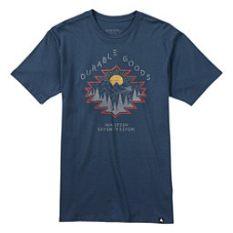 Burton El Dorado Short Sleeve Mens T-Shirt, Indigo, 256