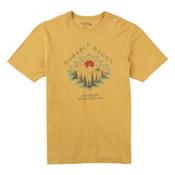 Burton El Dorado Short Sleeve Mens T-Shirt, Sunrise, medium