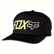 Fox Trenches Flexfit Hat, Black, medium