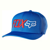 Fox Trenches Flexfit Hat, True Blue, medium