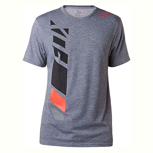 Fox Side Seca Tech Mens T-Shirt, Heather Graphite, 600