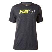 Fox Obsessed Tech Mens T-Shirt, Heather Black, medium