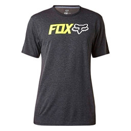Fox Obsessed Tech Mens T-Shirt, Heather Black, 256