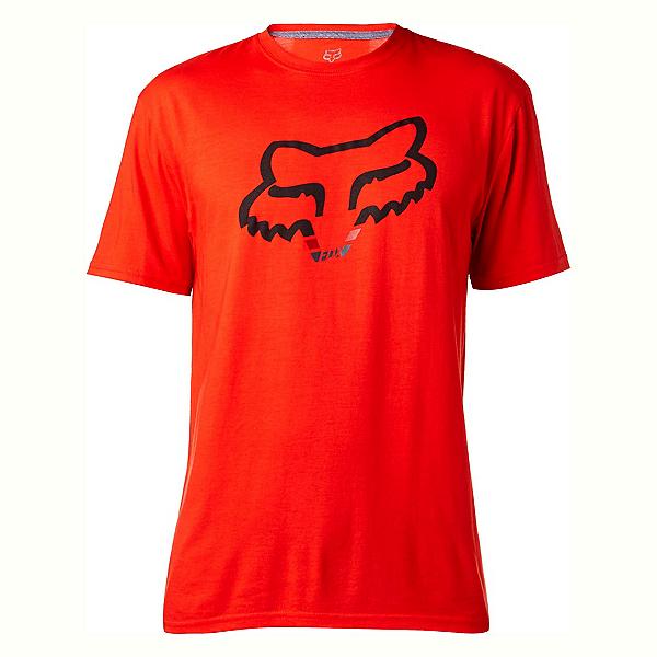 Fox Seca Head Tech Mens T-Shirt, Flame Red, 600