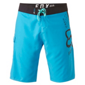 Fox 360 Solid Mens Boardshorts, Acid Blue, medium
