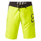 Fox 360 Solid Mens Boardshorts, Flo Yellow, medium