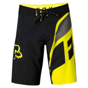 Fox Dive Seca Mens Boardshorts, Flo Yellow, medium