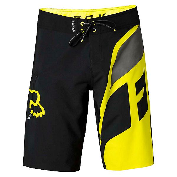 Fox Dive Seca Mens Board Shorts, Flo Yellow, 600