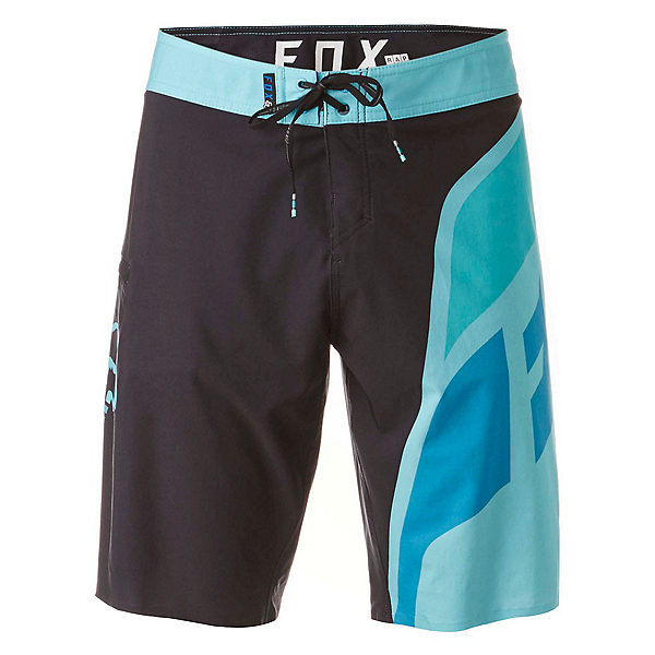 Fox Dive Seca Mens Board Shorts, Black, 600