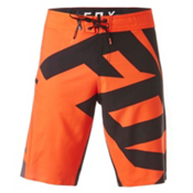 Fox Dive Closed Circuit Mens Board Shorts, Flo Orange, medium