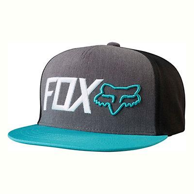 Fox Obsessed Snapback Hat, Black, viewer