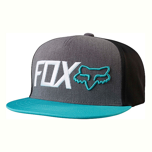 Fox Obsessed Snapback Hat, Black, 600