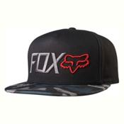 Fox Obsessed Snapback Hat, Black-Camo, medium