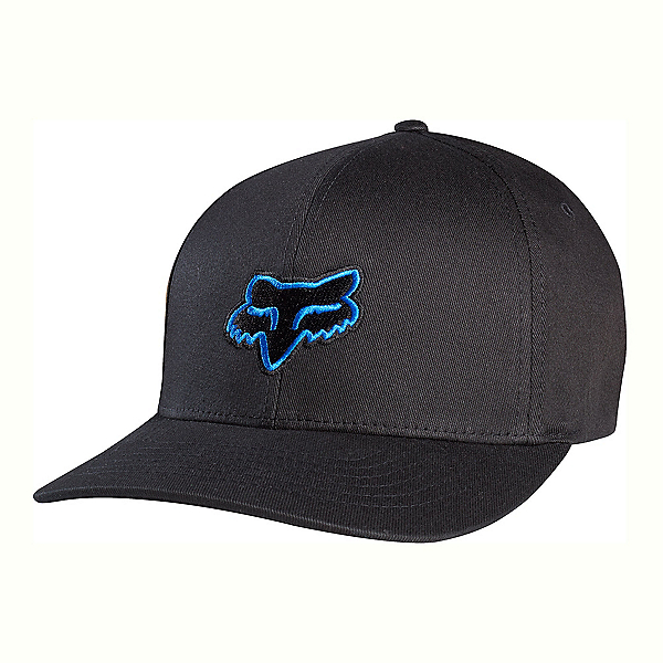 Fox Legacy Flexfit Hat, Black-Blue, 600