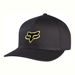 Fox Legacy Flexfit Hat, Black-Yellow, 256