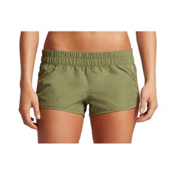 Hurley Solid Beachrider Supersuede Womens Board Shorts, Palm Green, medium