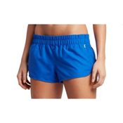 Hurley Solid Beachrider Supersuede Womens Board Shorts, Racer Blue, medium