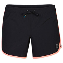 Hurley Phantom Solid 5 Inch Womens Board Shorts, Atomic Pink, 256