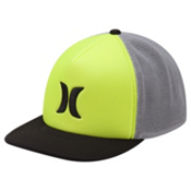 Hurley Blocked 3.0 Trucker Hat, Volt, medium