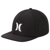 Hurley Blocked 3.0 Trucker Hat, Black, medium