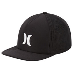 Hurley Blocked 3.0 Trucker Hat, Black, 256