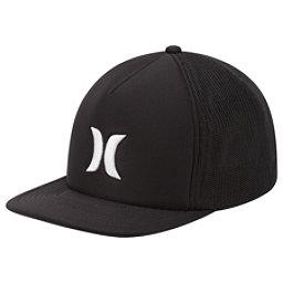 Hurley Blocked 3.0 Trucker Hat, Black, 256