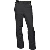 Karbon Silver Mens Ski Pants, Black-Black, medium