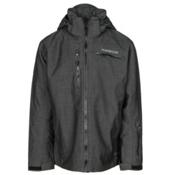 Karbon Stealth Mens Insulated Ski Jacket, Black Mix-Black Mix-Black-Blac, medium