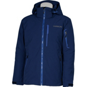 Karbon Command Mens Insulated Ski Jacket, Navy-Blue-Pu Film, medium