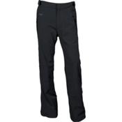 Karbon Dial Mens Ski Pants, Black-Charcoal-Pu Film, medium