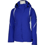 Karbon Opal Womens Insulated Ski Jacket, Indigo-Indigo-Arctic White-Arc, medium