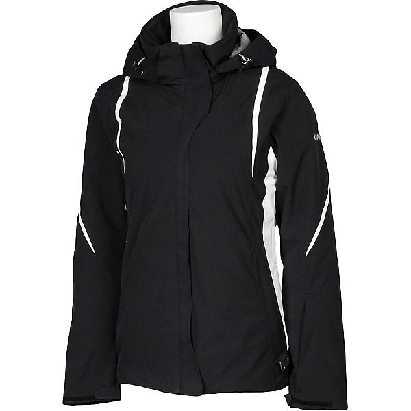 Karbon Opal Womens Insulated Ski Jacket, Black-Black-Arctic White-Arcti, 600