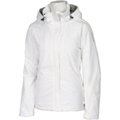 Karbon Amethyst Womens Insulated Ski Jacket, Arctic White-Arctic White, medium