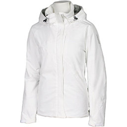 Karbon Amethyst Womens Insulated Ski Jacket, Arctic White-Arctic White, 256