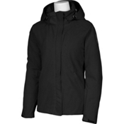 Karbon Amethyst Womens Insulated Ski Jacket, Black-Black, medium